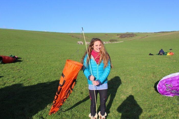 ozone paragliding windsock