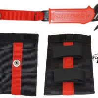 paragliding hook knife with case