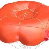 square round reserve parachute